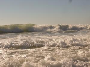 schön hohe Wellen - Cote Sauvage eben