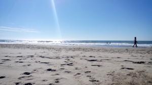 Ein traumhafter Tag - 18.Oktober 2014 - 28 Grad - 19 Grad Wassertemperatur im Atlantik - besser geht es nicht