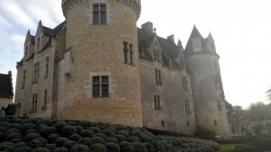 Chateau des Milandes  im Perigord hier lebte Josephine Baker mit  13 Kindern aus aller Welt viele Jahre