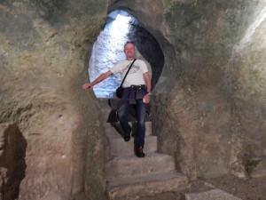 Christian im Untergrund