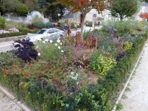 Gartenanlage Abbaye