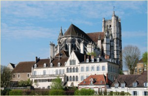 Auxerre mit Cathedrale