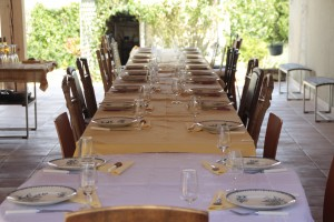 die grosse Tafel in Gerties
