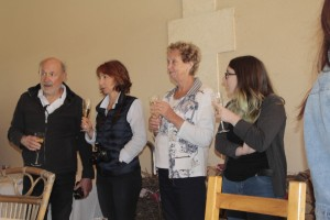 Claude , Lydia , Gisela + Lea
