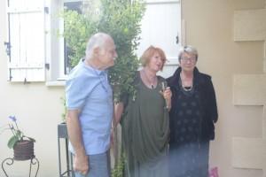 Der Granatapfelbaum , ein Geschenk von Allen